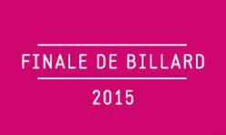 Finale de Billard / 2015
