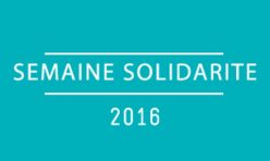 Semaine de la Solidarité/2016